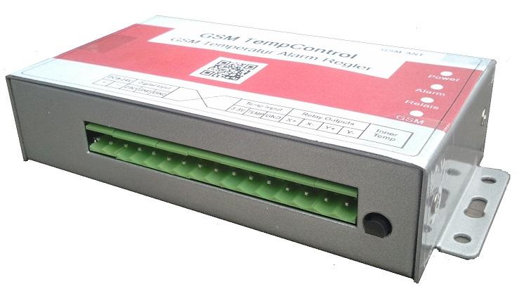 PIGSM5018 GSM Alarmthermostat ohne Antenne klein