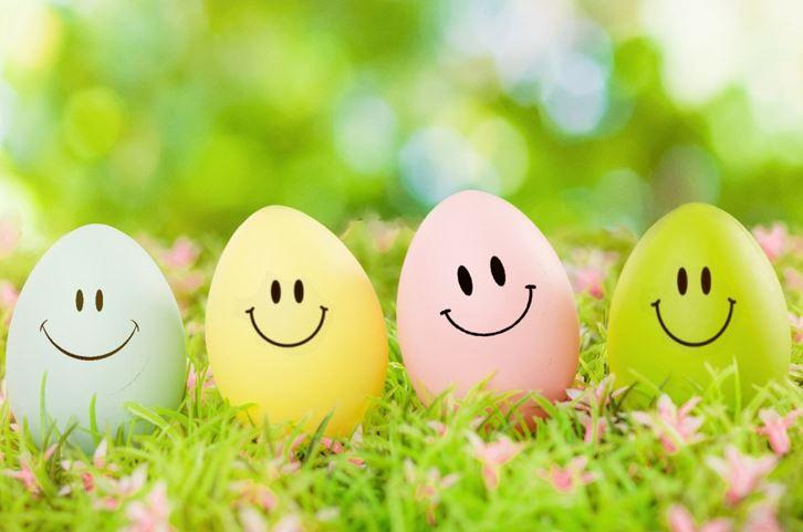 Oster Eier ohne Text